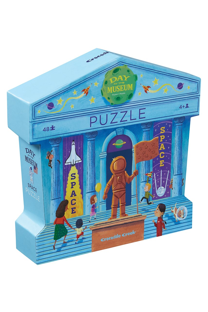 Day At The Museum Space Puzzle 48 Piece