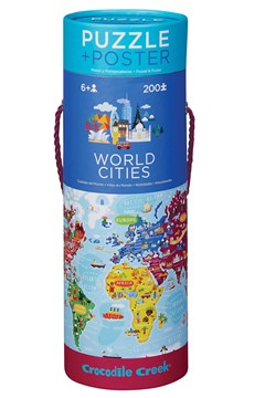 World Maps Puzzle Poster 200 Piece 1