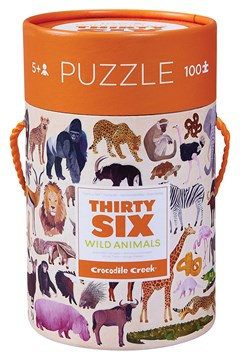 Thirty Six Wild Animals Puzzle 100 Piece 1