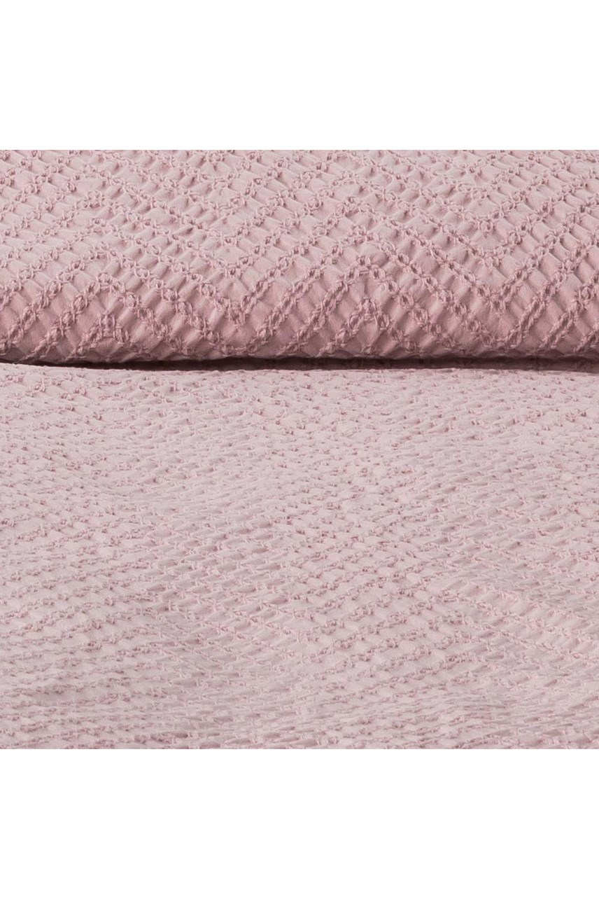 Cassis Blush Comforter Set Quilted