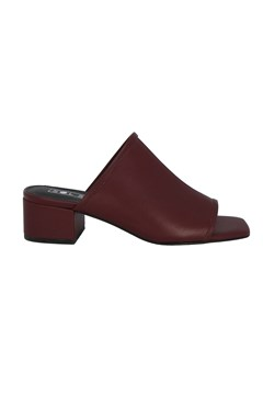 Inverse Heeled Mules DARK CHERRY 1