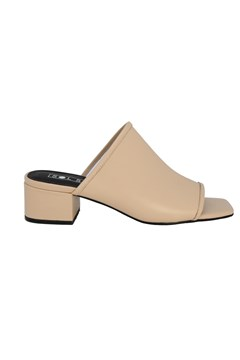 Inverse Heeled Mules LIGHT TAN 1