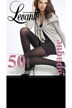 Suede Matte 50 Denier Tights Nero 1
