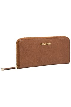 Saffiano Zip Around Wallet TAN 1