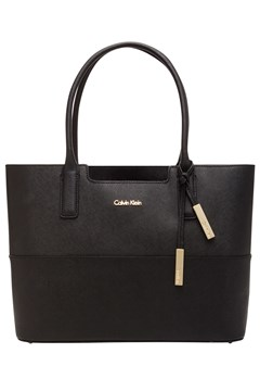 Saffiano Tote Bag BLACK 1