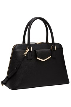 Saffiano Satchel Bag BLACK 1