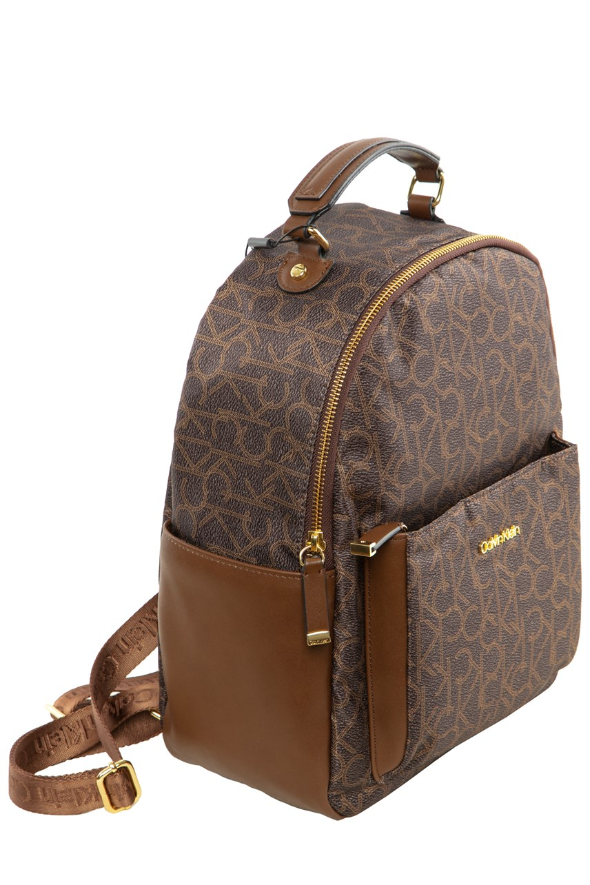 Abby Large Jacquard Backpack