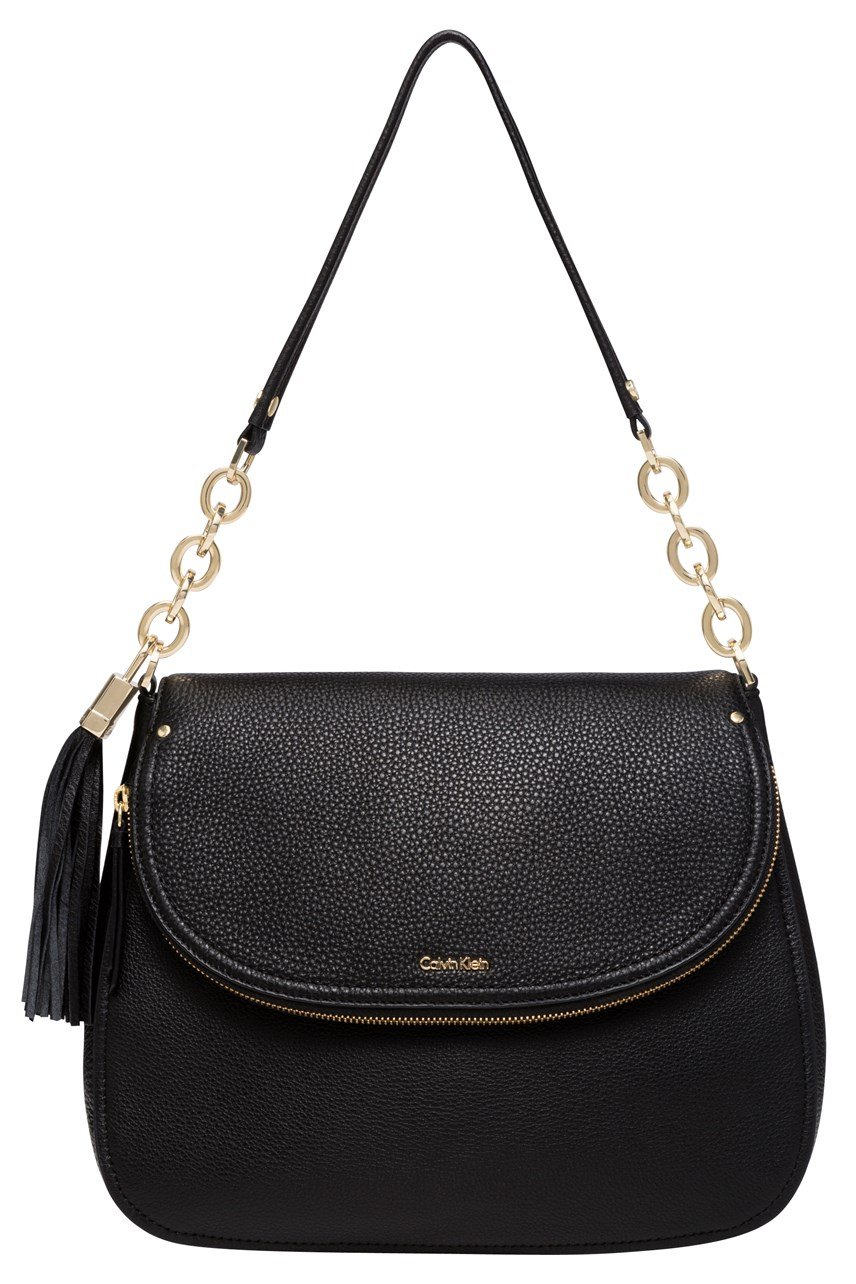 Large Shoulder Bag with Tassle Detail