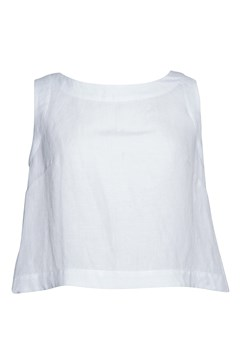 Annabel Shell Top WHITE 1