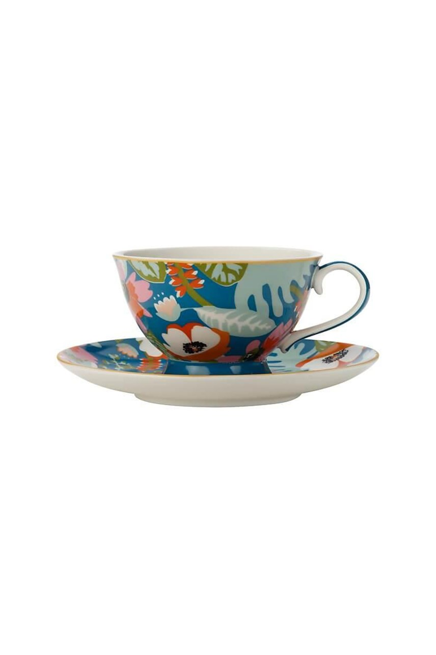 Alpinia Footed Cup & Saucer