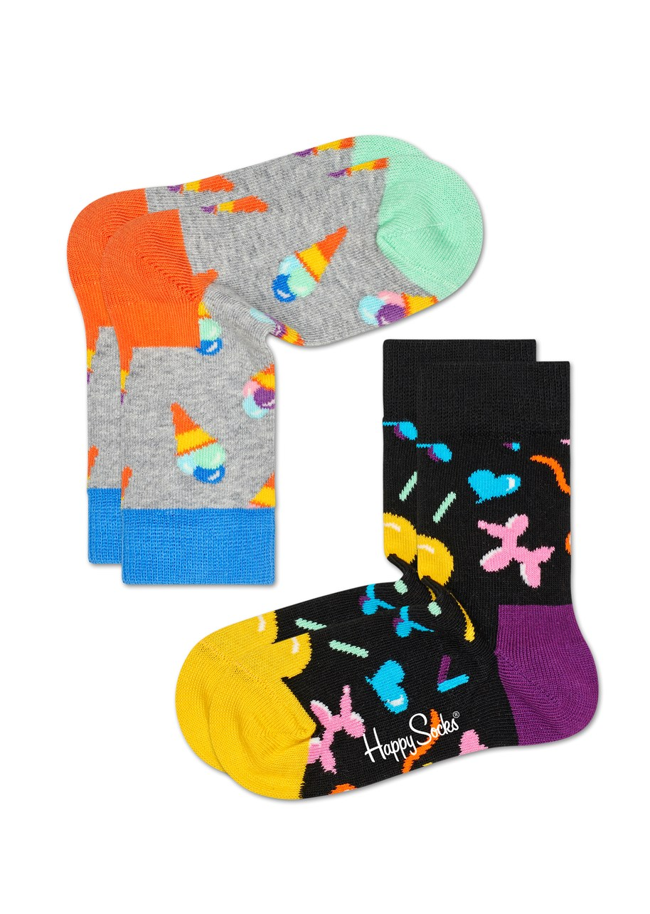 Kids Ice Cream Socks - 2 Pack