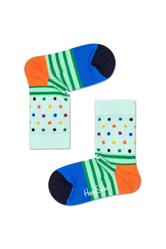 Kids Stripes N Dots Socks