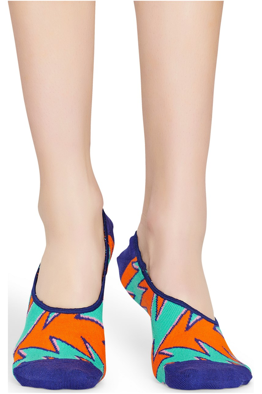 Women's Rock N Roll Stripe Liner Sock