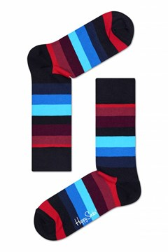 Stripe Sock Black 1