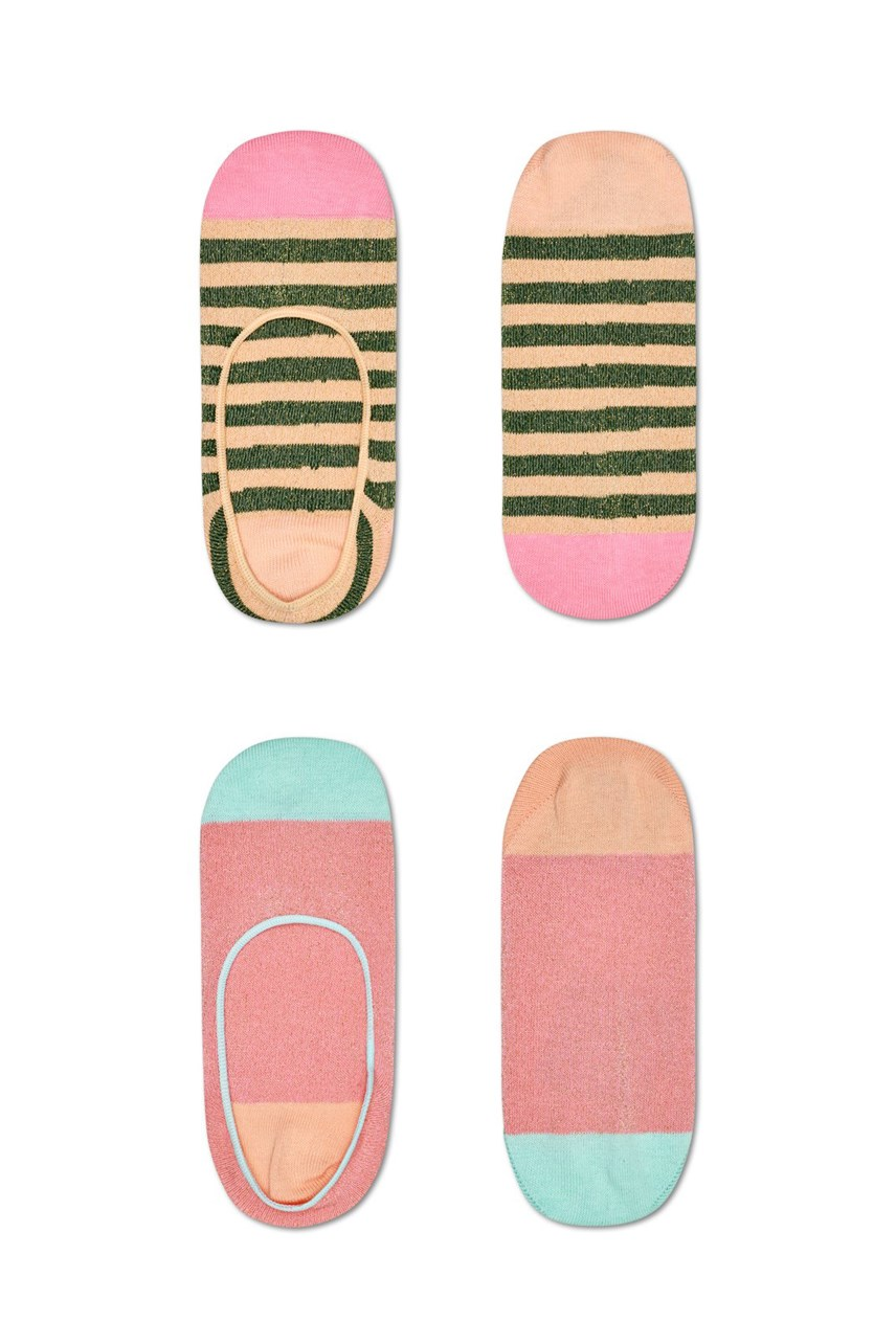 Claudia Invisible Socks 2-Pack