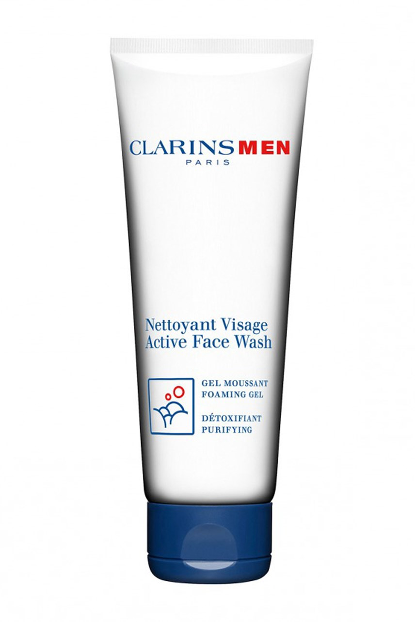 ClarinsMen Active Face Wash Foaming Gel