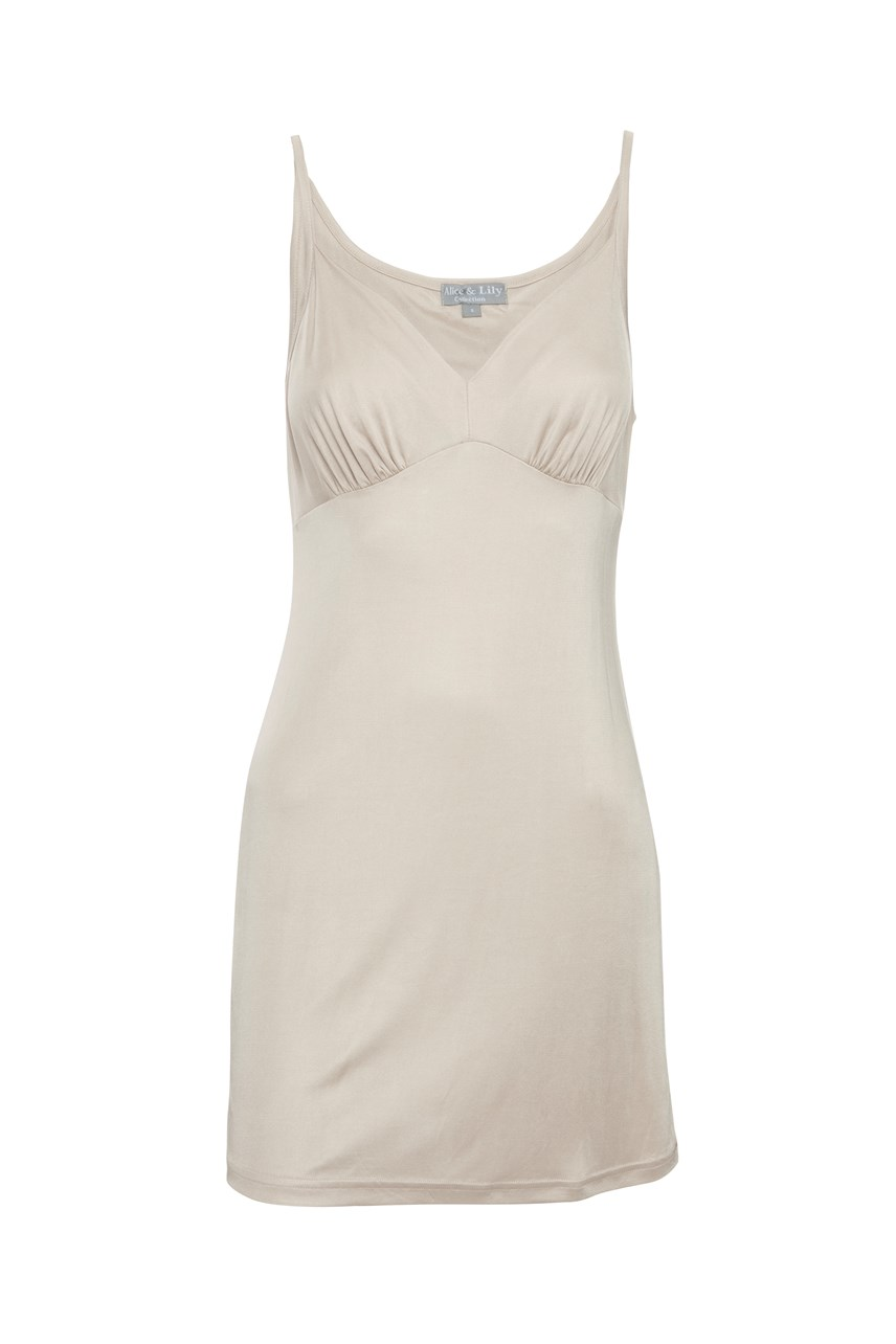 Pure Silk Shaped Chemise