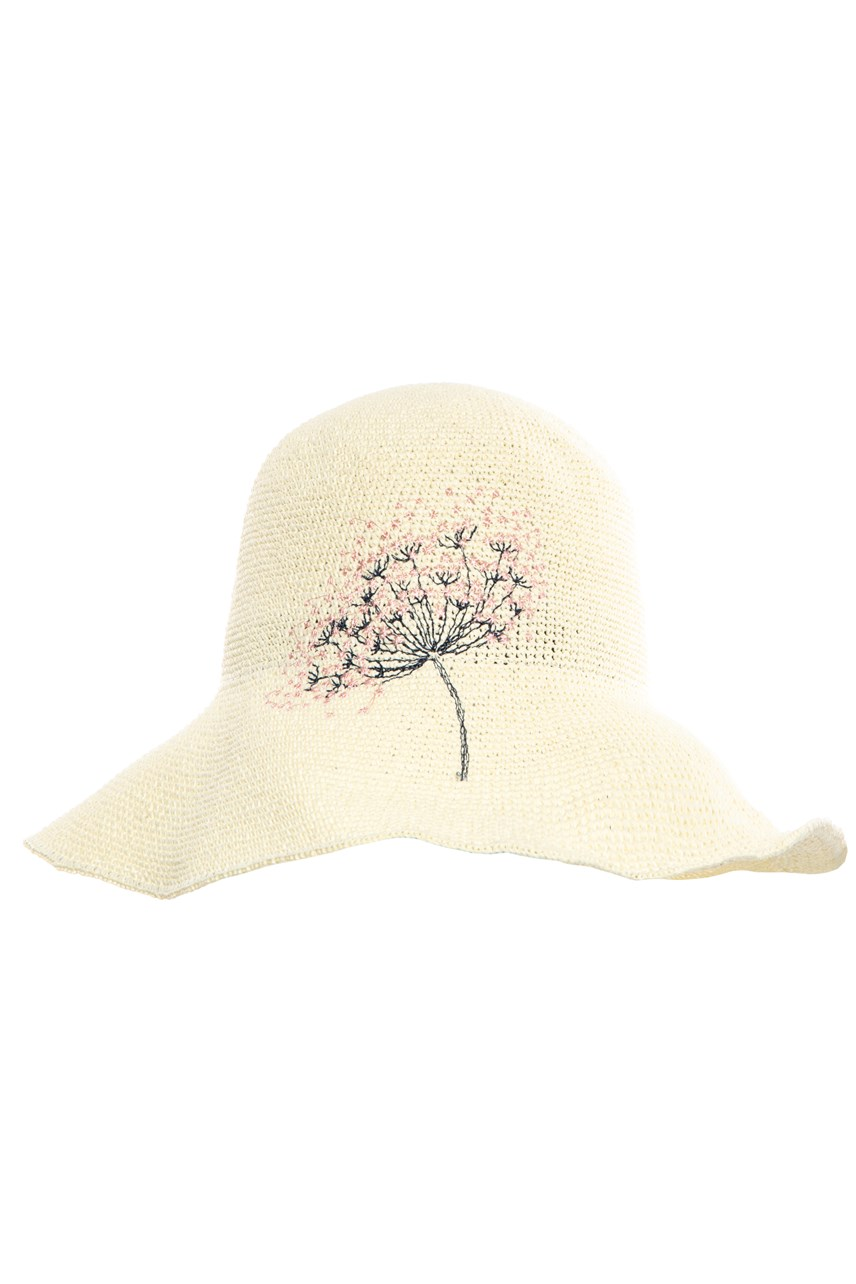 Packable Paper Cloche - Ivory