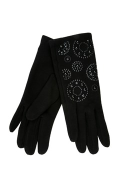 Printed Thermal Gloves BLACK 1