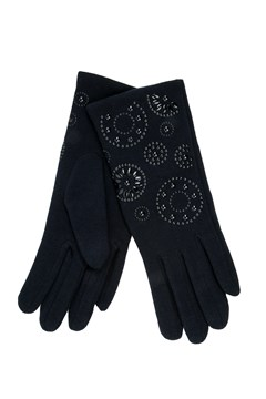 Printed Thermal Gloves NAVY 1