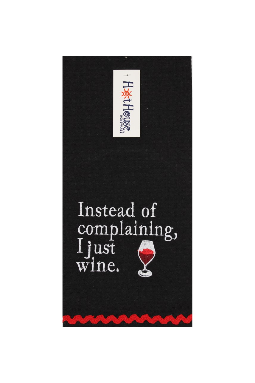 Wine & Complaining Tea Towel