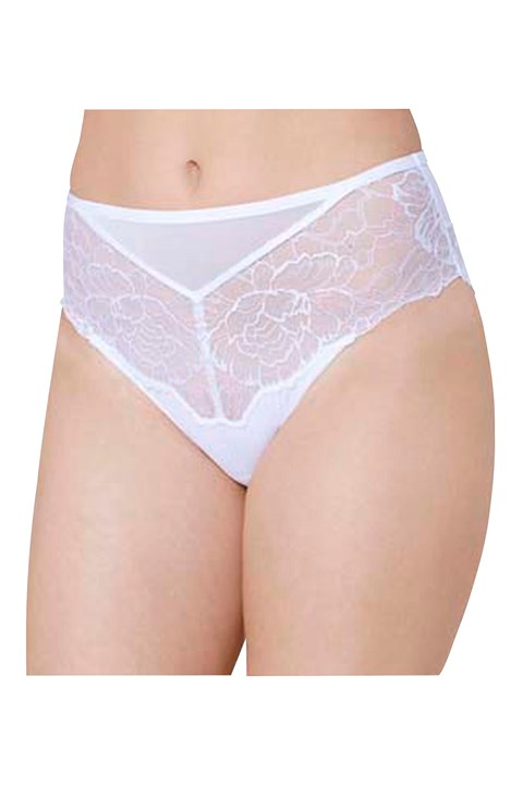 Peony Florale Maxi Brief - white