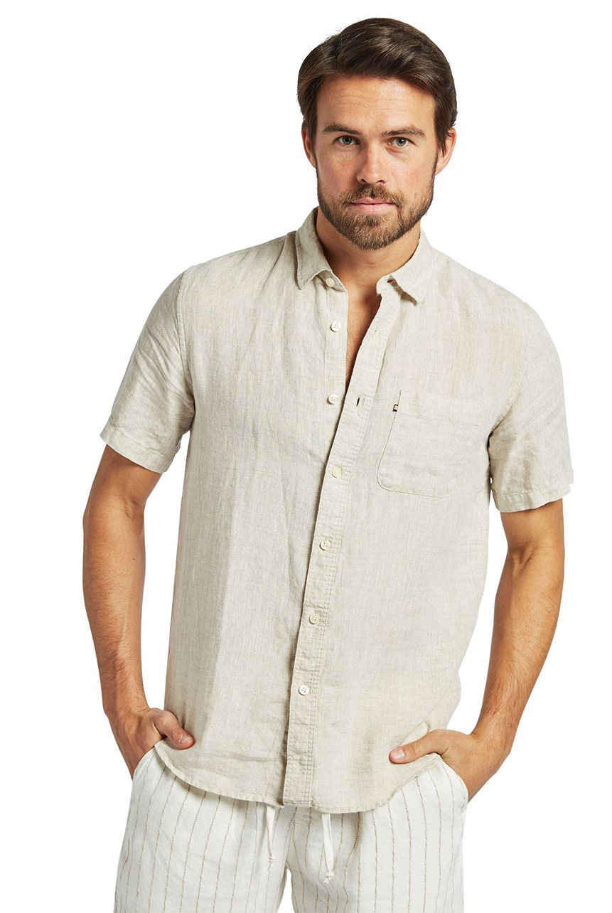 Hampton Linen Short Sleeve Shirt