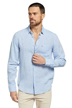 Newport Linen Shirt CHAMBRAY 1