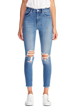 Marilyn Distressed High Rise Skinny Jean BLUEBUST 1