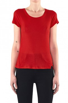 Spliced Rib Tee 3890 RCE RED 1
