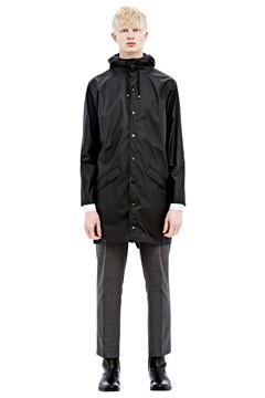 Men's Long Jacket BLK 1