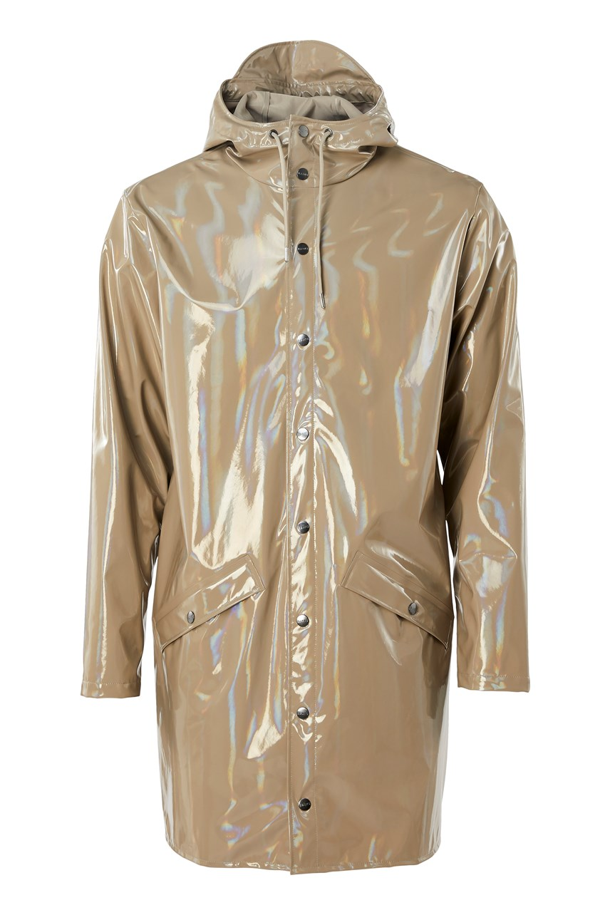 Holographic Long Jacket