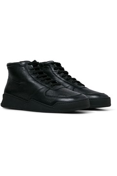 High Top Tumbled Sneaker BLACK 1