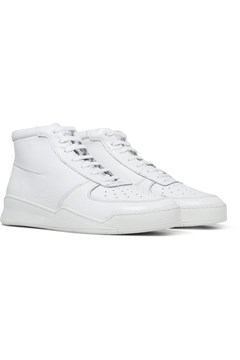 High Top Tumbled Sneaker WHITE 1