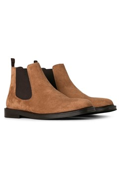 Major Leather Boot - tobacco