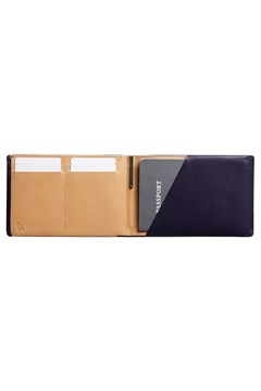 Travel Wallet with RFID technology - navy