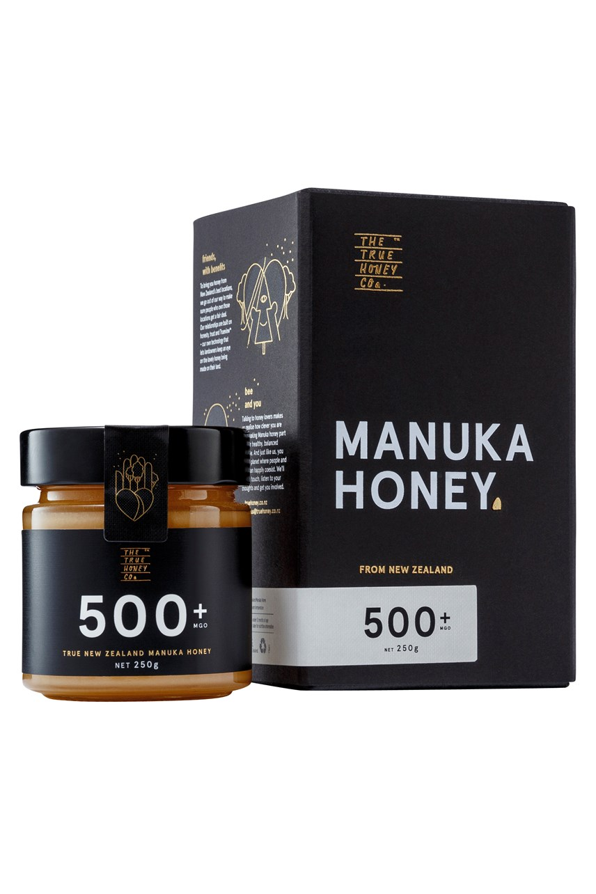 500+ MGO True Manuka Honey