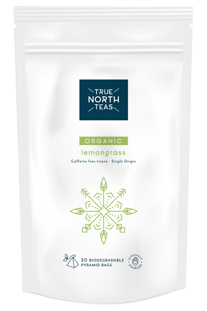 Organic Lemongrass Tea Bags x20