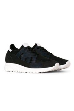 Future Grained Leather Sneaker BLACK NAVY 1