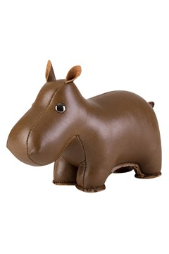 Classic Hippo Paperweight BROWN 1