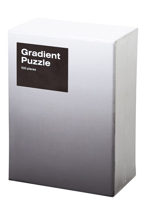 Small Gradient Puzzle - Black White - black white