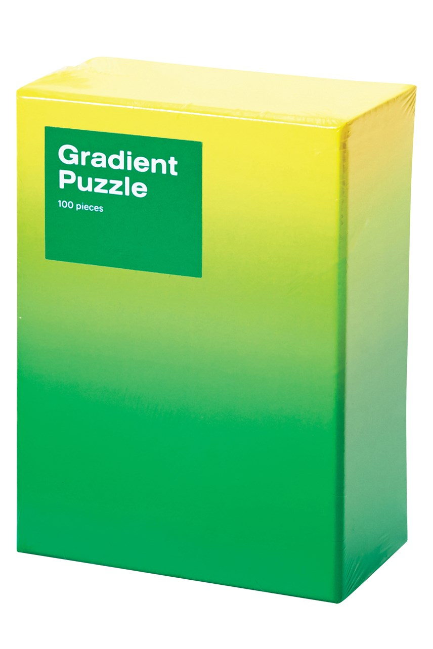 Small Gradient Puzzle - Green Yellow