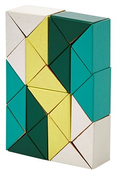 Snake Blocks - Medium YELLOW GREEN 1