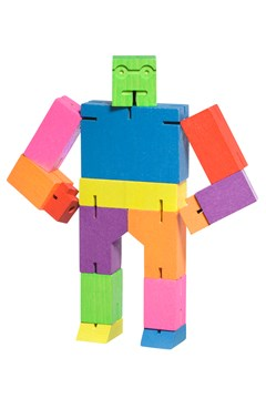 Cubebot Medium Robot Toy 1
