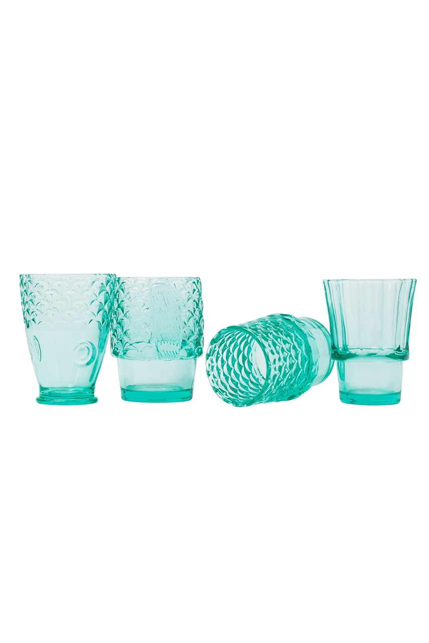 Koifish Stacking Glasses - Set of 4