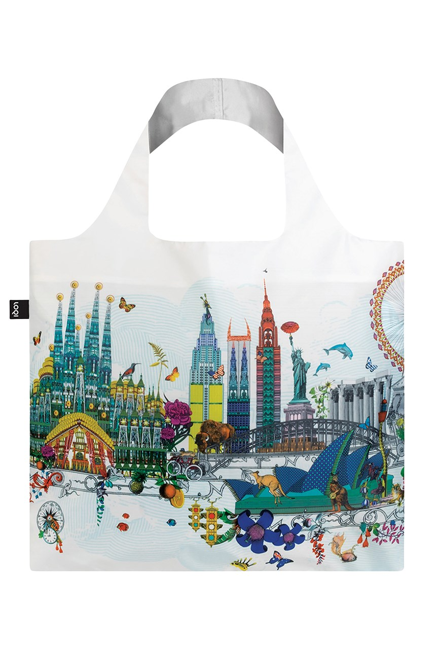 Reusable Shopping Bag - World Skyline