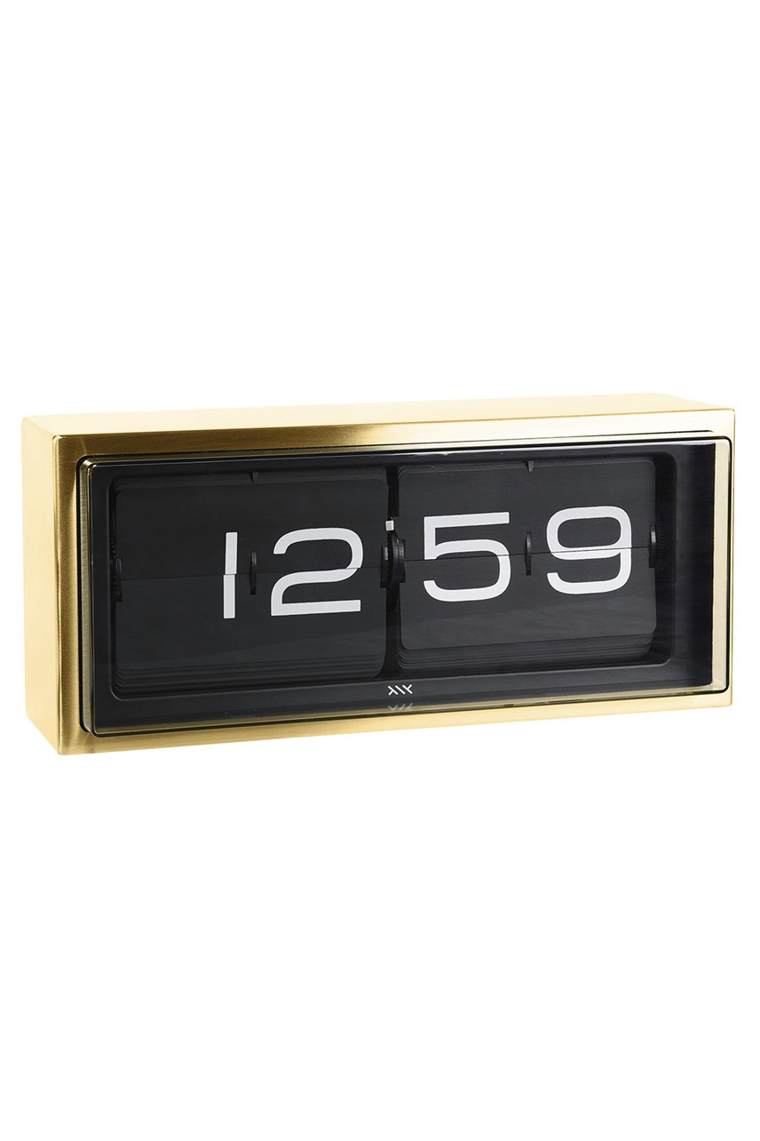 Brick 24-Hour Flip Clock