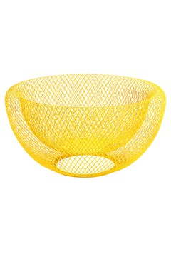 Wire Mesh Bowl YELLOW 1