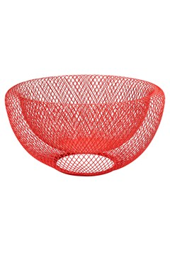 Wire Mesh Bowl RED 1