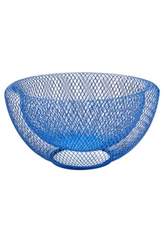 Wire Mesh Bowl BLUE 1